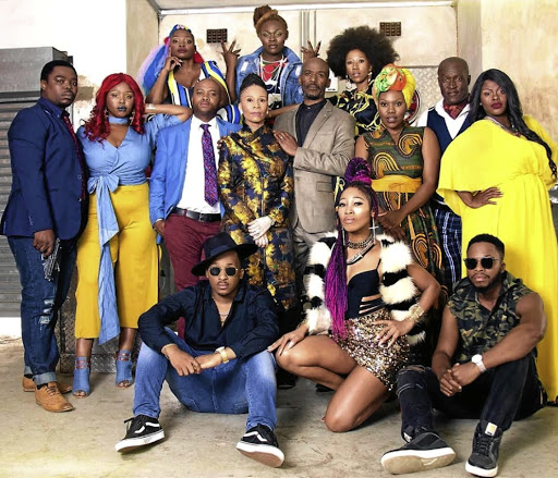 The cast of Uzalo.