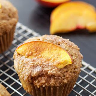 Peach Quinoa Muffins