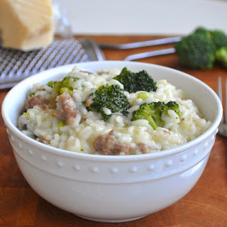 Risotto with Broccoli and Sausage
