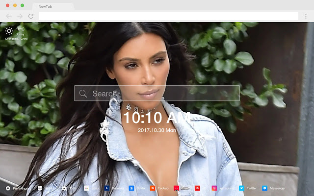 Kim Kardashian HD Wallpapers Stars New Tab