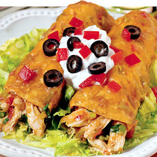 Mom's Chicken Enchiladas