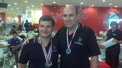 Photo: Daniel Murta & Marco Túlio (PRATA nas duplas masculinas 1.ª divisão)