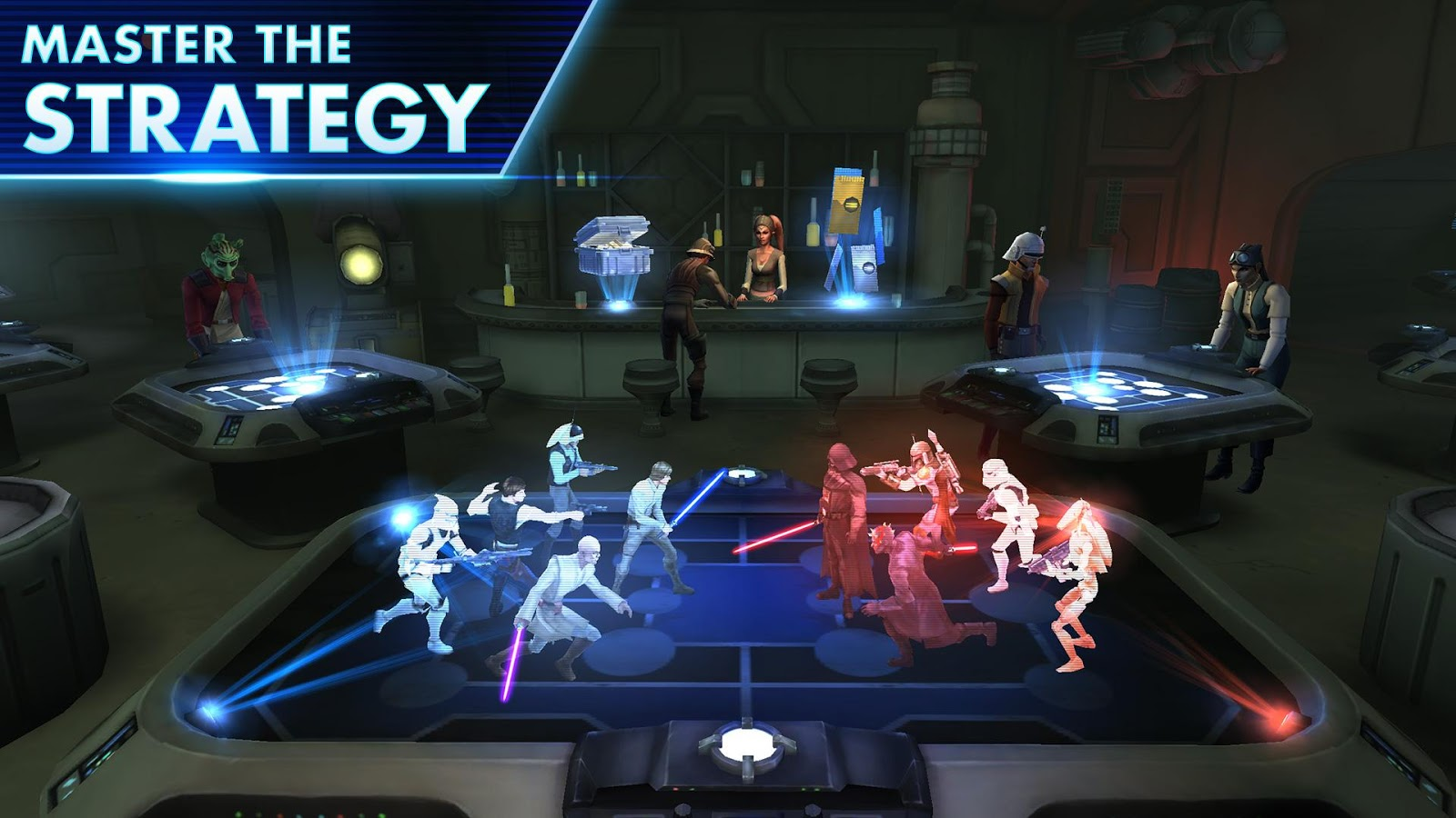 Star Wars: Galaxy of Heroes Gameplay IOS / Android - YouTube