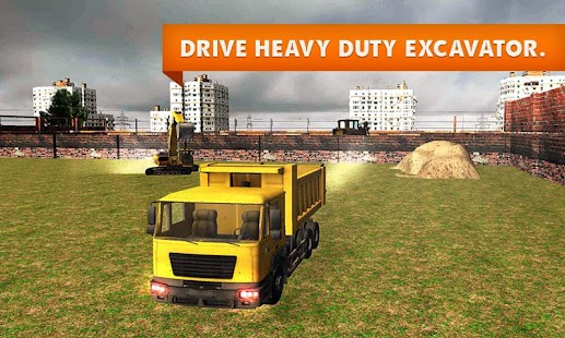 Sand-Excavator-Truck-Simulator 1