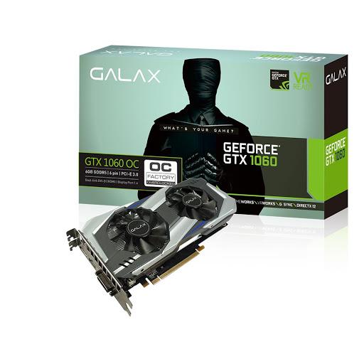 Card màn hình Galax 6GB GTX1060 OC