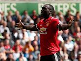 Romelu Lukaku scoorde in de 0-4-winst van Manchester United bij Swansea
