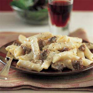 Dracula's Revenge (Baked Penne with Sausage and Garlic)