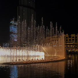 Dubai Fountains by James Booth - City,  Street & Park  Fountains