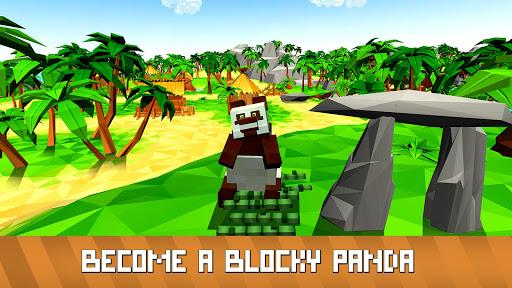 Blocky Panda Simulator - be a bamboo bear! 2.2.4 screenshots 9