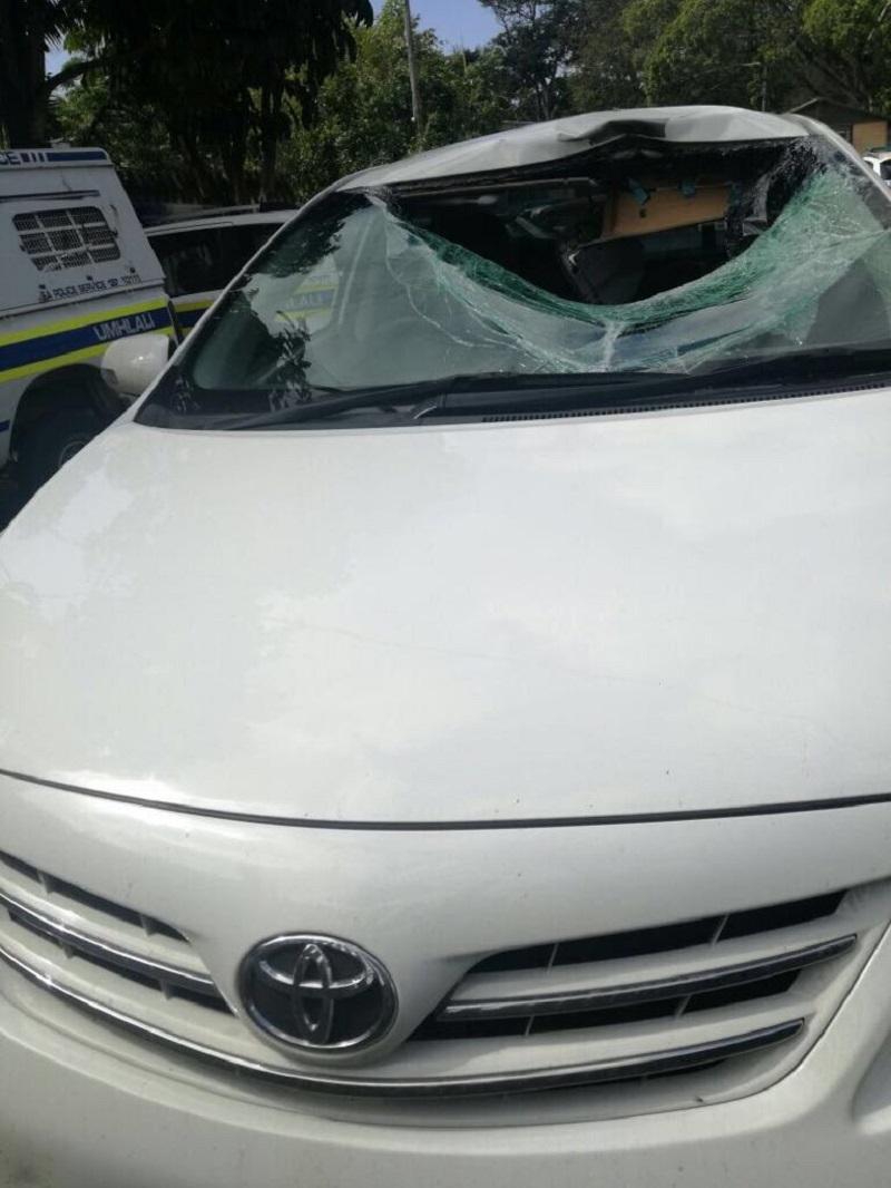 Three man have been charged with murder for rock throwing incidents in Durban.