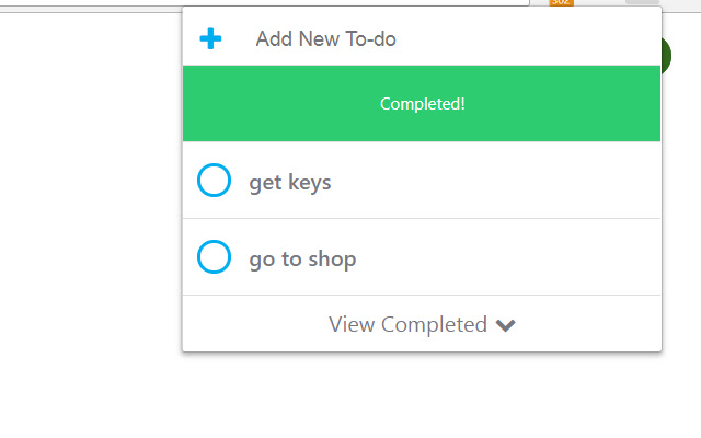 Todo list manager