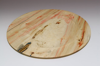 Photo: Clif Poodry - box elder platter, 14""