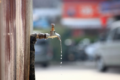 Residents warned to to keep their taps closed during the day.