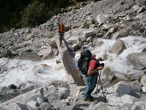 Photo: Cruzamos el torrente que viene del barranco del Vallon de la Pilatte