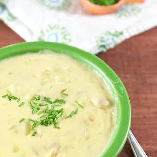 Easy Cheesy Potato Soup.