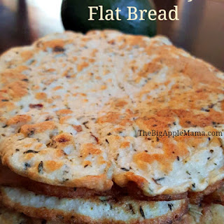 3 Ingredient Paleo Friendly FlatBread Recipe