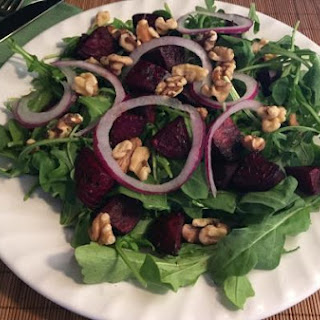 Roasted Beets and Walnut Salad
