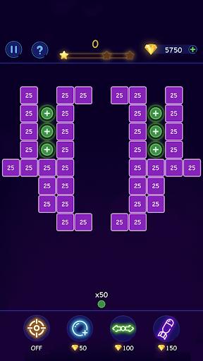 Bricks Breaker - Ball Crusher android2mod screenshots 7