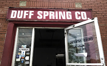 Photo: Duff Spring Co in Medford, MA proudly displaying your BBB Accreditation