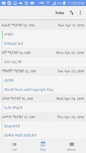Ethiopian Calendar - Apps on Google Play