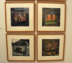 """Photo: Photographs by Arthur Tress from his """"Fish Tank Sonata"""" series at Edelman Arts"""