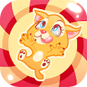 Kitty in Candyland-Jump & Tilt icon