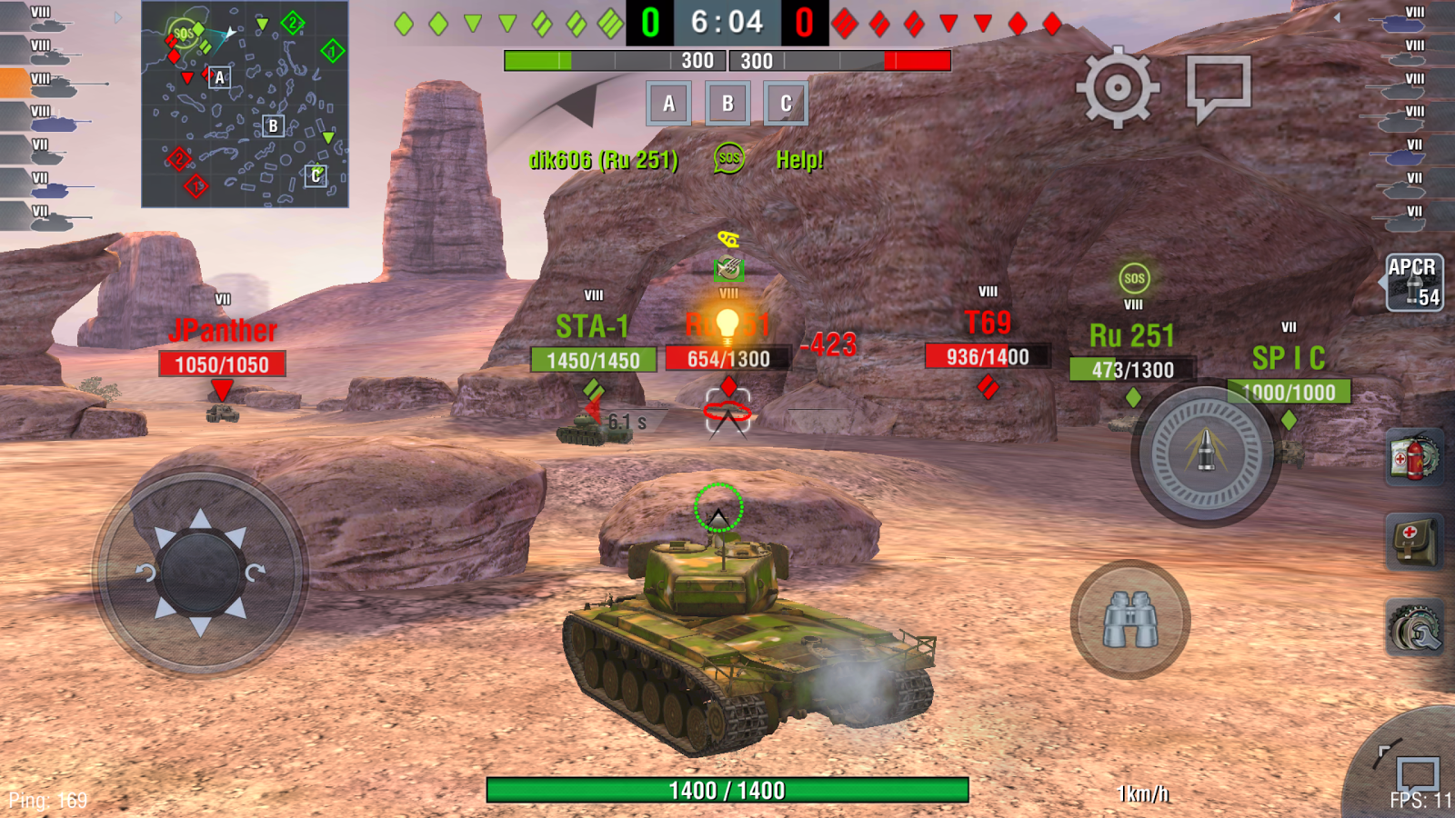 World of tanks na android