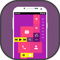 Square Home Launcher 2019 - Theme Launcher Free