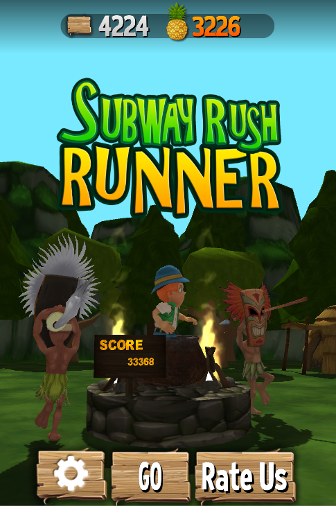 Subway Rush Runner: Bus & Rail- screenshot