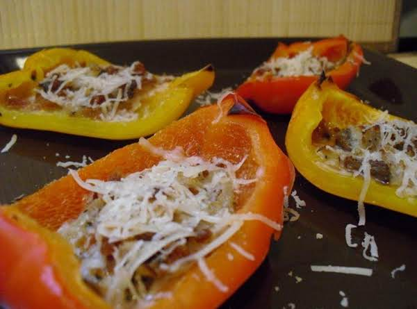 Stuffed Pepper Quarters Recipe