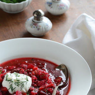 Cabbage Borscht Soup Recipes.