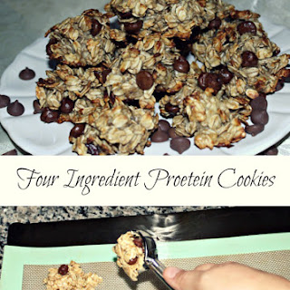 Four Ingredient Protein Cookies with Premier Protein #TheDayIsYours.