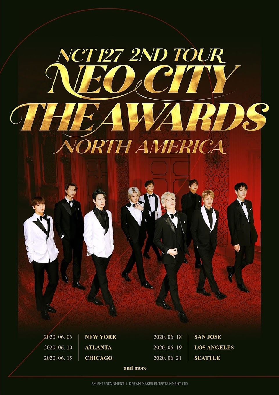 nct 127 neo city the awards