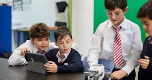 Alumnos del colegio.