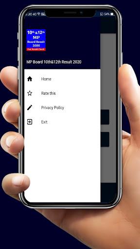 Mp Board Result 2020,10th & 12th Board Result 2020 screenshot 2