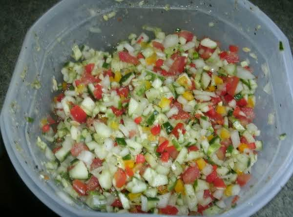 Brother Ron's Fresh Marinated Summer Salsa Recipe