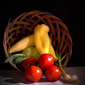 by Helena Jirasová - Food & Drink Fruits & Vegetables ( vegetable still life )
