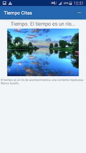 Download Tiempo Citas y frases famosas For PC Windows and Mac apk screenshot 15