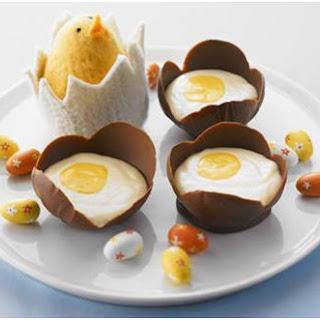 Creamy Chocolate Mousse Eggs