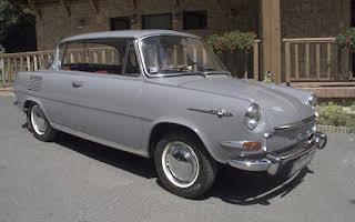 Škoda 1000 MBX Rent Bratislava