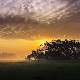 Senja by Aprio Rahmansyah - Landscapes Sunsets & Sunrises ( sky, landscape photography, sunrise, nature, sunset, travel, landscape )