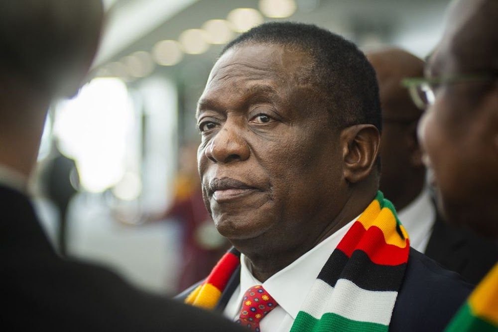 Zimbabwe crisis exists in the minds of others, Mnangagwa tells Zanu-PF faithful - Business Day