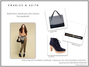 Photo: Stylish fans, flaunt your chic choices this weekend!  Visit your nearest store or CharlesKeith.com to find out more.