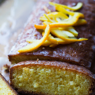 Zesty Madeira Cake & the Great British Bake Off