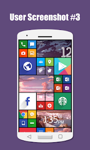 SquareHome 2 - Launcher: Windows style Screenshot