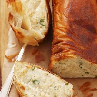 White Fish Pastry Bake