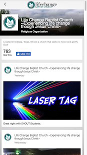 Lifechange Baptist- screenshot thumbnail