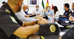 Reunión de la Junta de Seguridad ante la Feria de Almería