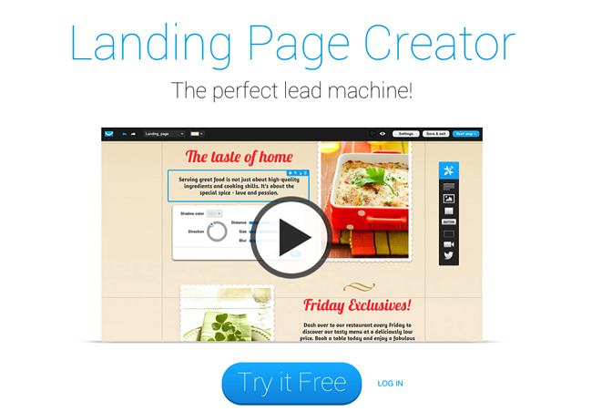 effective landing page copy