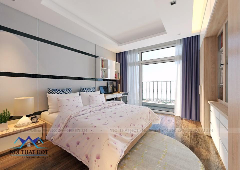 thiết kế phòng ngủ, thiết kế nội thất chung cư